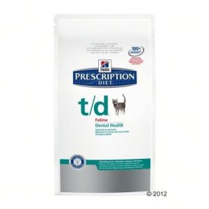 Hill's Prescription Diet Feline - T/D - 2 x 5 kg