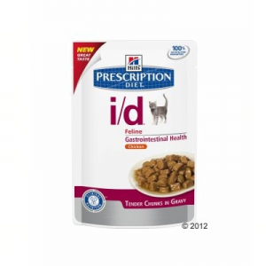 Hill's Prescription Diet Feline I/D csirke - 12 x 85 g