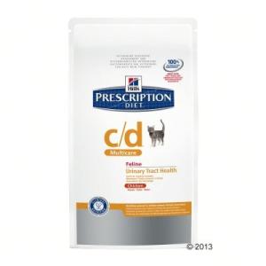 Hill's Prescription Diet Feline - C/D Multicare csirke - 5 kg