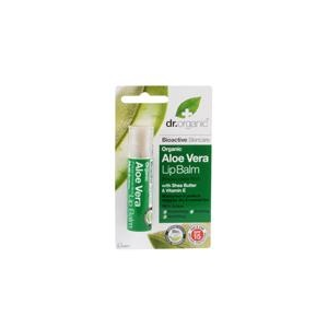 dr.Organic Bio Aloe Vera ajakbalzsam 5.7 ml