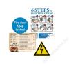 Xerox Etikett, lézernyomtatókhoz, A4, műanyag, kültéri, XEROX Nevertear, átlátszó, 50 etikett/csomag (LX90523) etikett