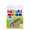 Filctoll készlet, 1 mm, NEBULÓ, 12 különböző szín (RNEBF12)