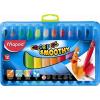 MAPED Zsírkréta, kitekerhető, MAPED Color`Peps, 12 különböző szín (IMA836112)