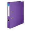 VICTORIA Iratrendező, 50 mm, A4, PP/karton, élvédő sínnel, VICTORIA, Basic, lila (IDI50L)