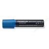 STAEDTLER Alkoholos marker, 2-12 mm, vágott, STAEDTLER Lumocolor 388, kék (TS3883)
