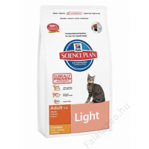 Hill's Science Plan Feline Adult Light Chicken 5kg