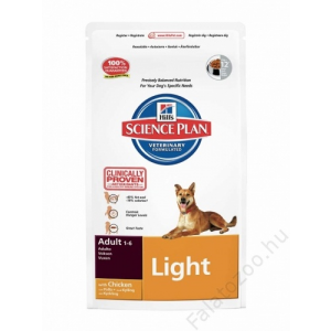 Hill's Science Plan Canine Adult Light Chicken 12kg