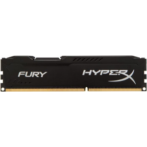 Kingston 4GB 1866MHz DDR3 CL10 DIMM HyperX Fury Black Series