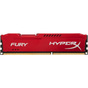 Kingston 4GB 1600MHz DDR3 CL10 DIMM HyperX Fury Red Series