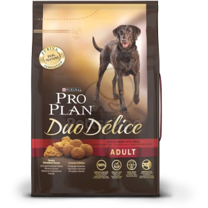 Pro Plan Duo Délice Marha + Rizs 10 kg
