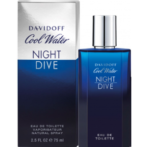 Davidoff Cool Water Night Dive EDT 75 ml