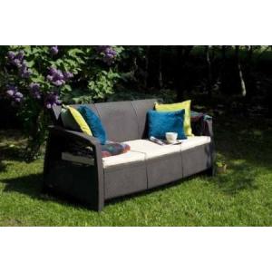 Corfu kanapé 3 személyes barna
