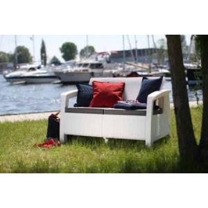 Corfu kanapé 2 személyes barna