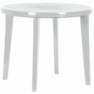 LISA kerek asztal 90 cm FEHÉR