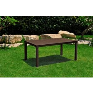 Melody asztal 161x95 cm barna