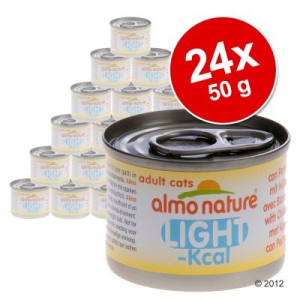 Almo Nature Classic Almo Nature Light gazdaságos csomag 24 x 50 g - Csirkemell & bonito tonhal