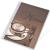 PANTA PLAST Étlaptartó, A5, PANTA PLAST Café , kávé (INP3094999)