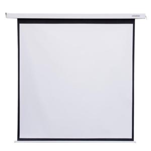 4world Elektromos vetítővászon kapcsoló 178x178 (1:1) fehér matt