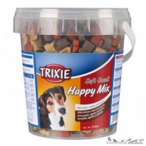 Na Trixie 31495 Soft snack 500g Happy mix