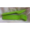 zöld evőeszköz szett (10 db kés+10 db villa)