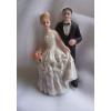 esküvői pár 10 cm