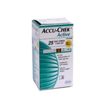 ROCHE Accu-Chek Active tesztcsík 25db-os vércukorszintmérő