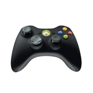 Microsoft XB360 Kontroller Wireless Fekete