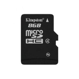 Kingston Card MICRO SD Kingston 8GB Adapter nélkül CL4