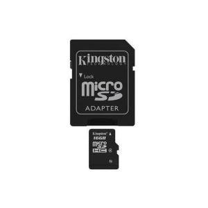 Kingston Card MICRO SD Kingston 16GB 1 Adapter CL4