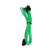 Bitfenix 4-Pin ATX12V hosszabbító 45cm - sleeved zöld/fekete