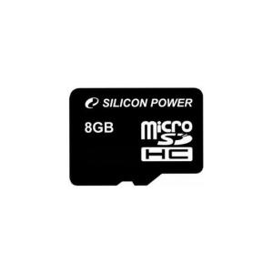 Silicon Power Card MICRO SDHC Silicon Power 8GB Adapter nélkül CL6
