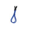 Bitfenix internal USB hosszabbító 30cm - sleeved kék/fekete