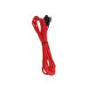 Bitfenix 3-Pin hosszabbító 60cm - sleeved piros/fekete