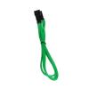 Bitfenix 3-Pin hosszabbító 30cm - sleeved zöld/fekete