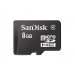Sandisk MICRO SDHC CARD 8GB SANDISK + SD adapter