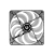 Bitfenix COOLER BITFENIX Spectre LED Red 120mm (fekete)