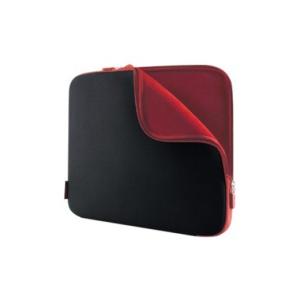 "Belkin Case SLEEVE NEOPRENE 15.6"" COAL BLACK/WHINE RED"