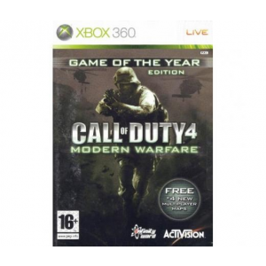 Activision GAME XB360 Call of Duty 4: Modern Warfare