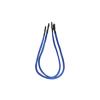 Bitfenix 2-Pin I/O-Panel hosszabbító 30cm - sleeved kék/fekete