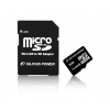 Silicon Power Card MICRO SDHC Silicon Power 8GB 1 Adapter CL6