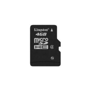Kingston Card MICRO SD Kingston 4GB 1 Adapter