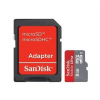Sandisk MICRO SDHC CARD 8GB SANDISK MOBIL ULTRA CL10 + SD adapter + Android App.