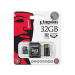 Kingston Card MICRO SD Kingston 32GB 1 Adapter G2 USB reader CL4