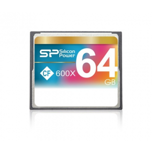 Silicon Power Card CF Silicon Power 64GB 600x