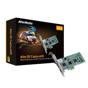 AVerMedia 3D Digitalizáló H727 3D CaptureHD (2D->3D, Analóg és DVB-T TV, PIP, Távirányító)