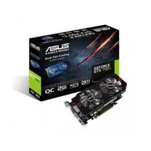Asus VGA ASUS PCIE3.0 GTX750TI-OC-2GD5 2048MB DDR5