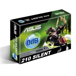 Asus VGA Asus PCIe NVIDIA 210 1GB DDR3 - EN210 SILENT/DI/1GD3/V2(LP)