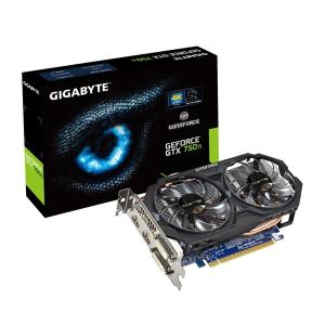 Gigabyte VGA Gigabyte PCIe NVIDIA GTX 750 Ti 2GB GDDR5 - GV-N75TOC-2GI