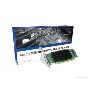 Matrox Millennium P690 DualHead PCI-E 256MB 2xDVI LP LFH-60 BRAC