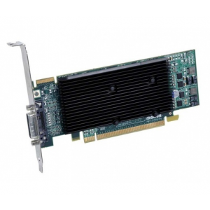 Matrox M9120 PLUS LP DH 512MB DDR2 PCI-Ex16 Dual DVI passzív